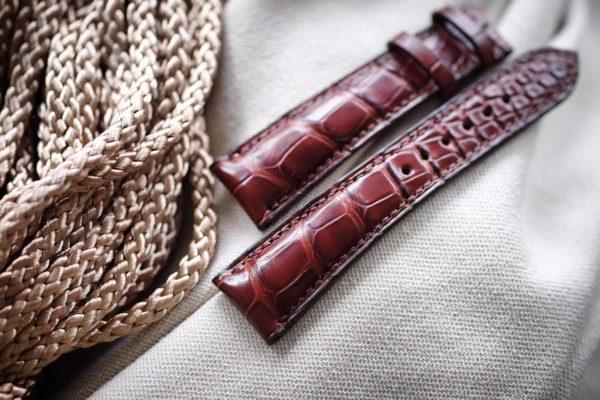 dây đồng hồ da cá sấu xịn