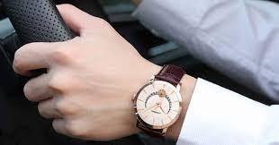 đồng hồ dây da nam đẹp